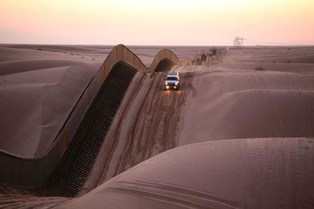 Cierre de gobierno Estados Unidos, Muro México Estados Unidos