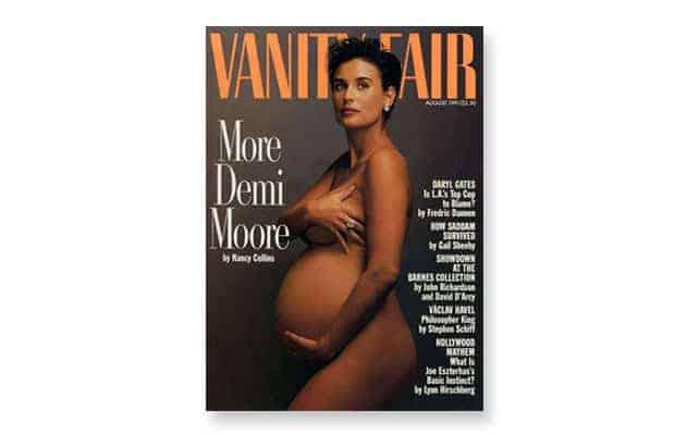 Demi Moore, Susan Sontag