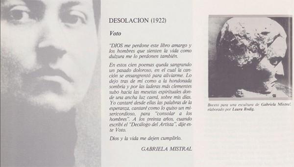 Gabriela Mistral, int2
