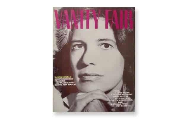 Susan Sontag, Vanity Fair