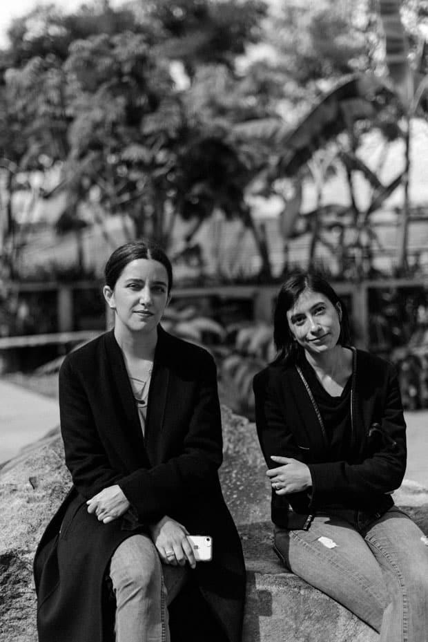 Catalina Lozano y María Emilia Fernández curadoras de la colección jumex