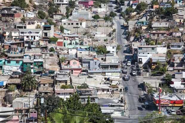 crónica de la violencia en Tijuana y en la frontera norte