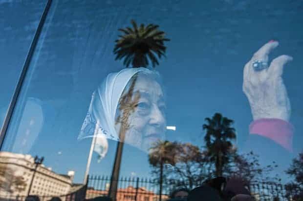 Hebe de Bonafini Madres de Plaza de Mayo activista Buenos Aires