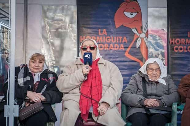 Hebe de Bonafini Madres de Plaza de Mayo premio nobel