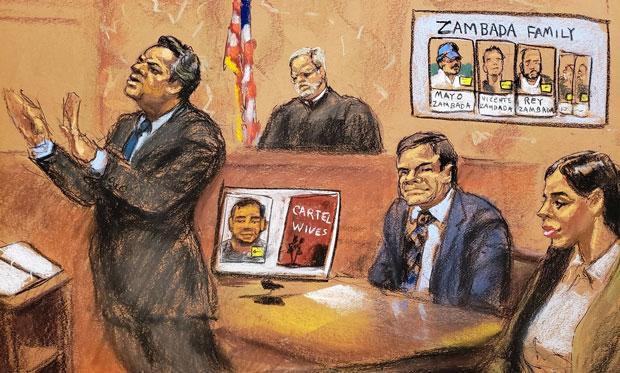 juicio del Chapo Guzmán Estados Unidos