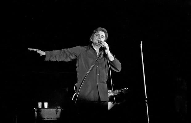 Johnny Cash en concierto