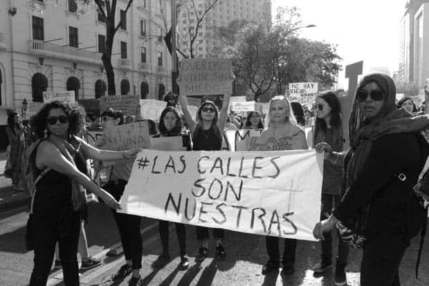 Violencia contra las mujeres, marcha ni una mas feminicidios México