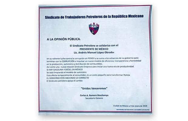 Carlos Romero Deschamps, el Sindicato de Trabajadores Petroleros de la República Mexicana