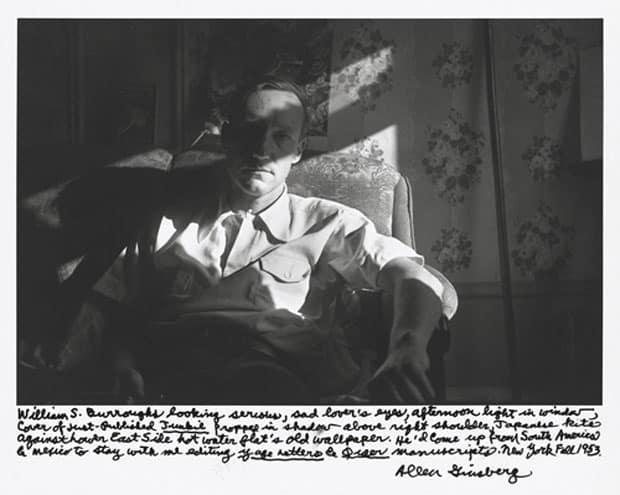 William Burroughs generación beat Ginsberg