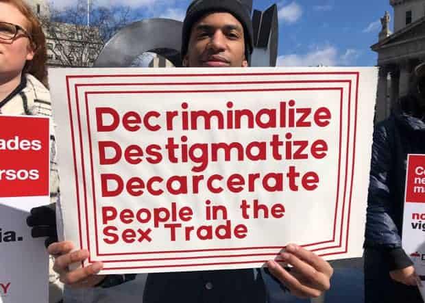 criminalización del trabajo sexual
