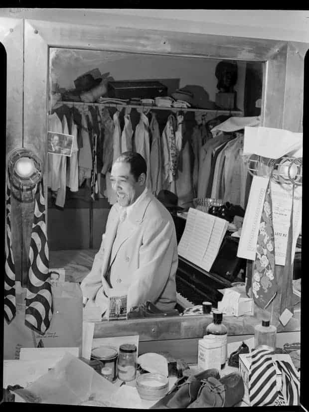 Duke Ellington, Teatro Paramount, Nueva York.