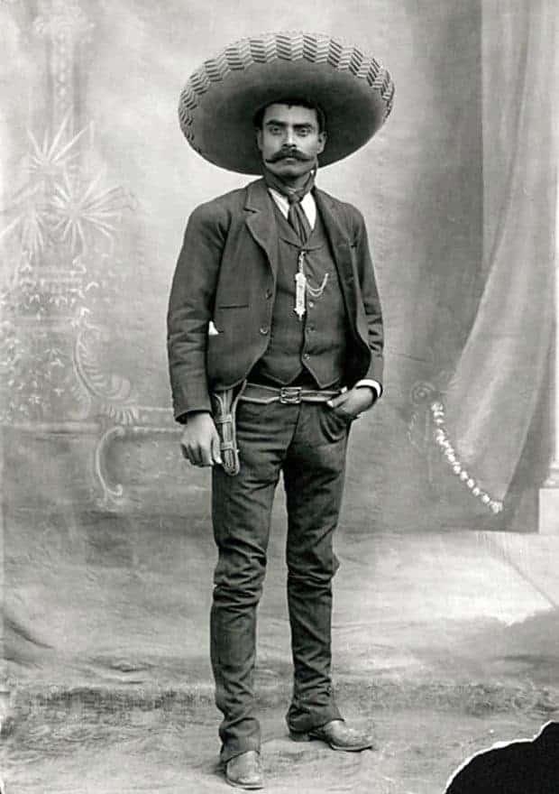 Emiliano Zapata retrato
