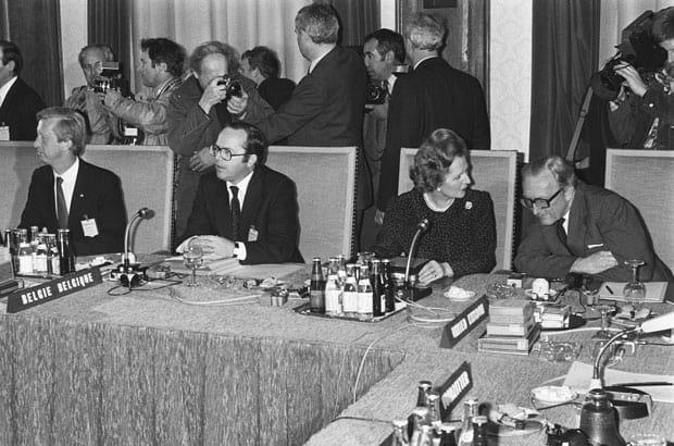 Margaret Thatcher y el Consejo Europeo en Maastricht