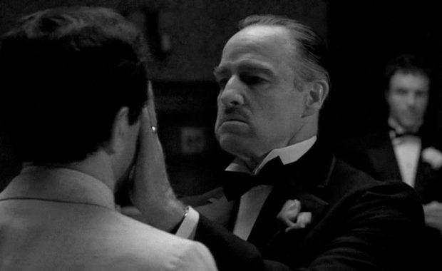 Marlon Brando en El Padrino
