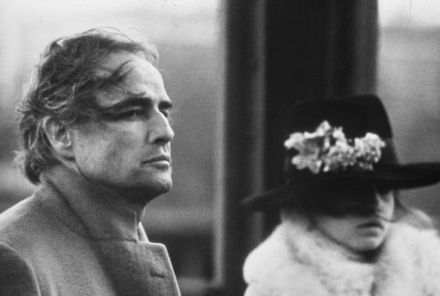 Marlon Brando en El último tango en París