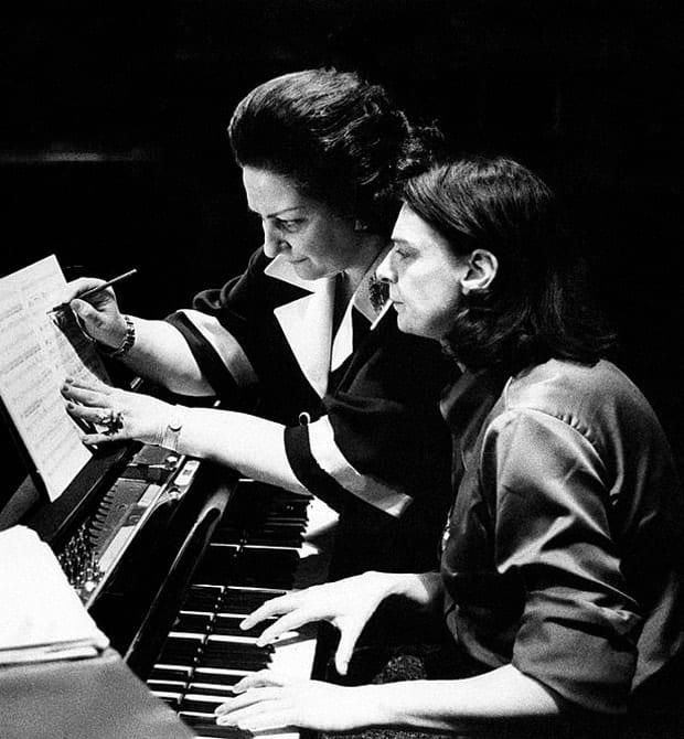 Montserrat Caballé música