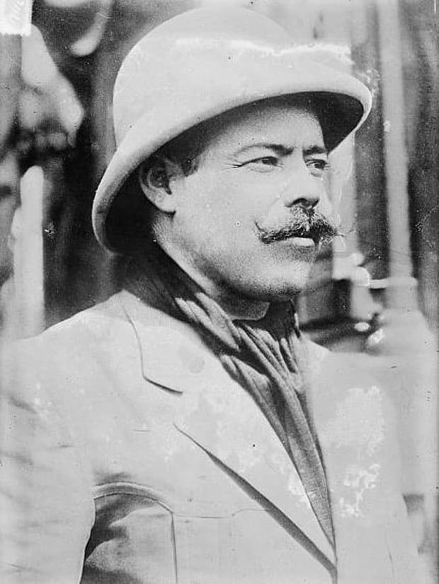 Pancho Villa retrato