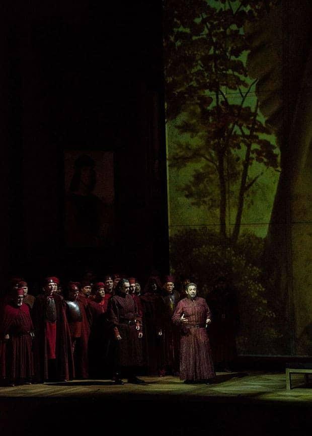 Plácido Domingo en el escenario