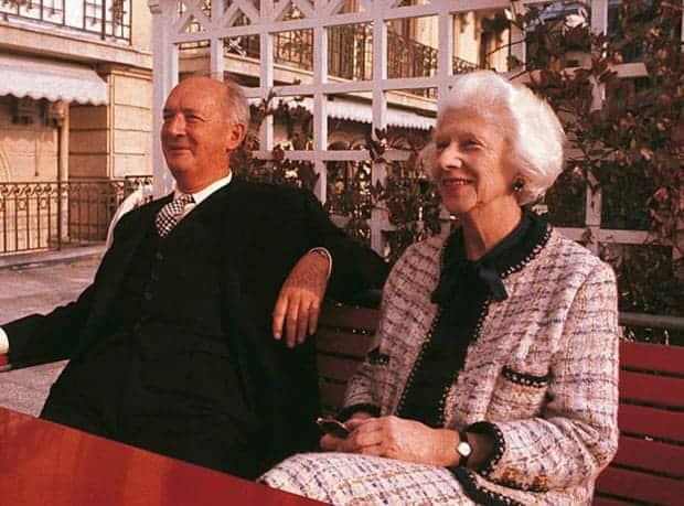 Nabokov y su esposa Vera