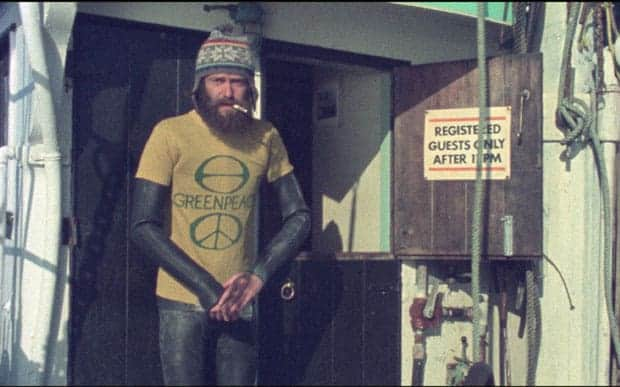 Bob Hunter Greenpeace