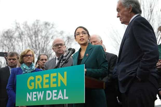 Alexandria Ocasio-Cortez Green New Deal