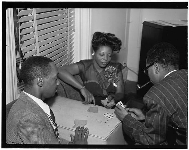 Tadd Dameron, Mary Lou Williams y Dizzy Gillespie