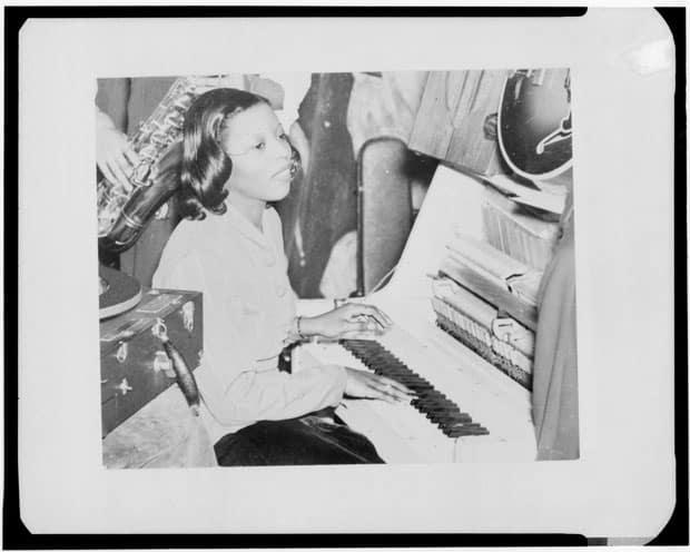 Mary Lou Williams joven