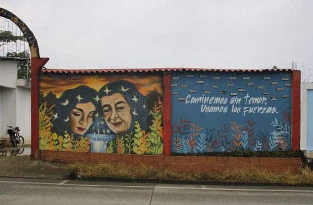 Mural del Placer, La Dorada, Putumayo