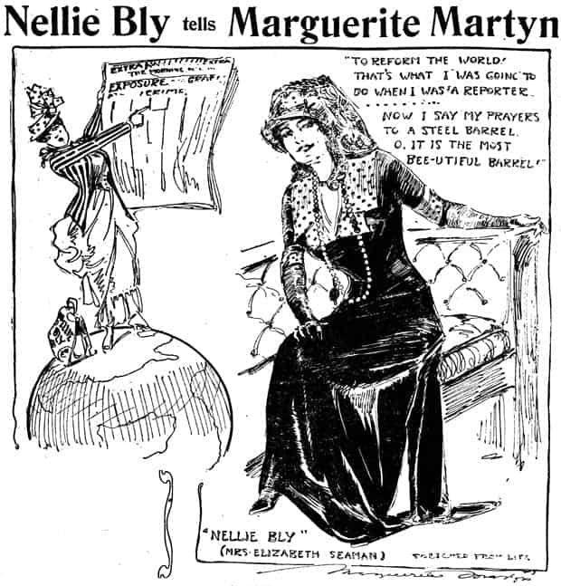 Nellie Bly Marguerite Martyn