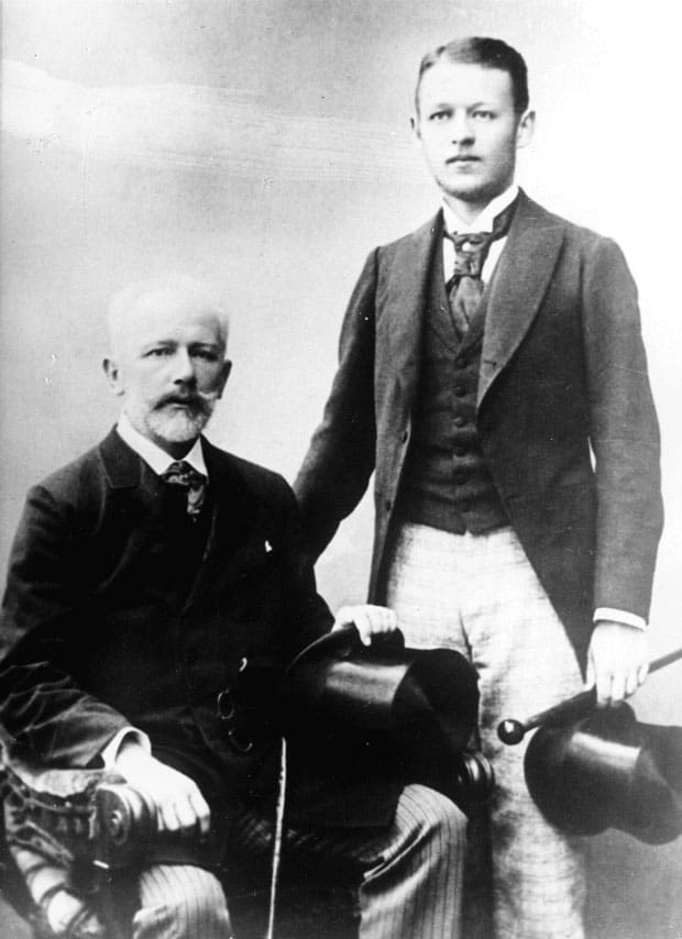 Tchaikovsky y Vladimir Davydov