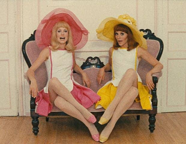 Catherine Deneuve y Françoise Dorléac en Las Señoritas de Rochefort