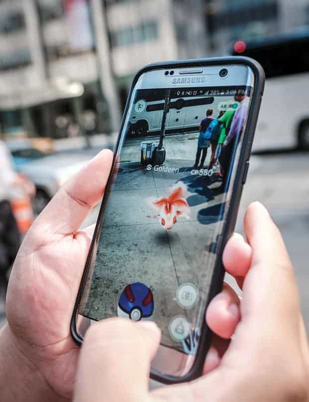 realidad aumentada Pokémon Go