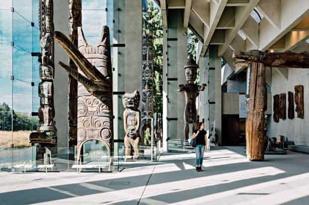 Museo de Antropología en Vancouver, BC.