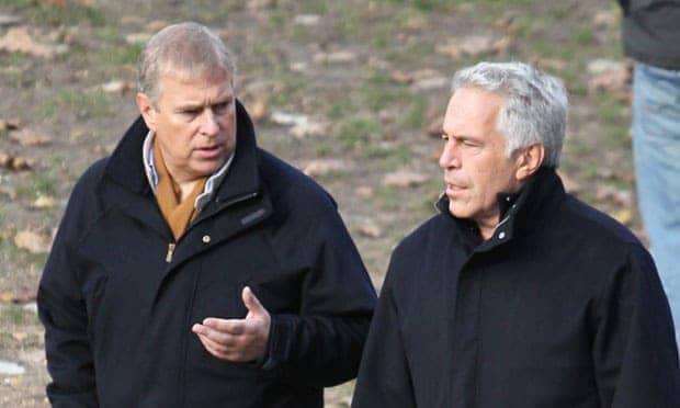 Jeffrey Epstein y el Príncipe Andrew