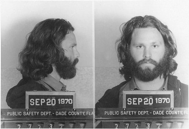 Jim Morrison carcel