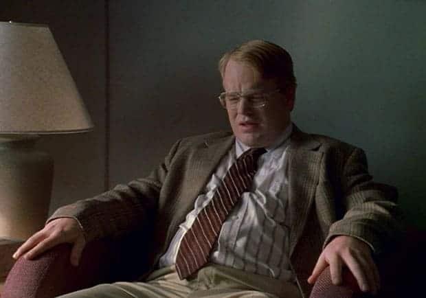 Philip Seymour Hoffman en Happiness (1998) de Todd Solondz.
