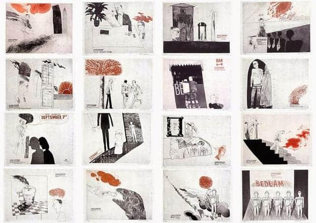 Rake's Progress de David Hockney