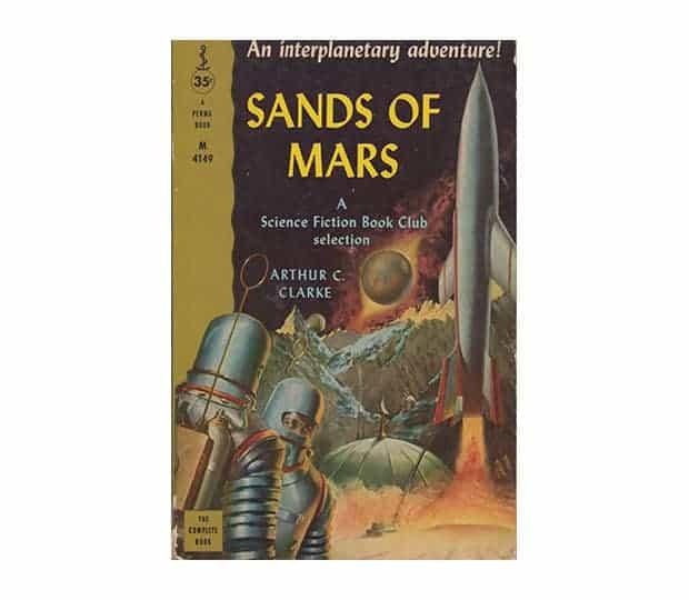 Las arenas de marte de Arthur Clarke