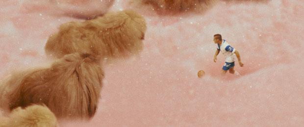 Diamantino y los perritos pekineses.