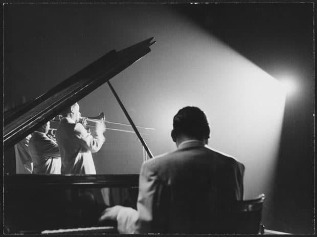 Louis Armstrong en concierto