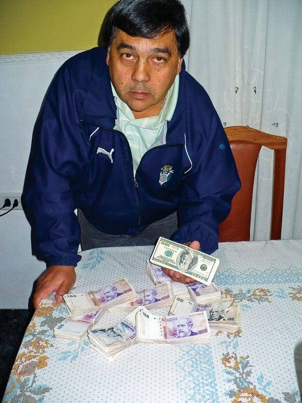 Santiago Gori taxista argentino