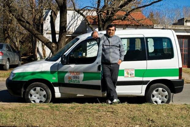 Santiago Gori taxista