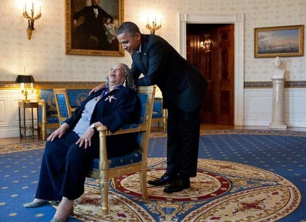 Toni Morrison y Barack Obama