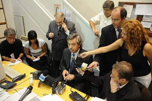 Alberto Fernández conferencia de prensa