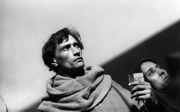 Antonin Artaud en La Pasión de Juana de Arco