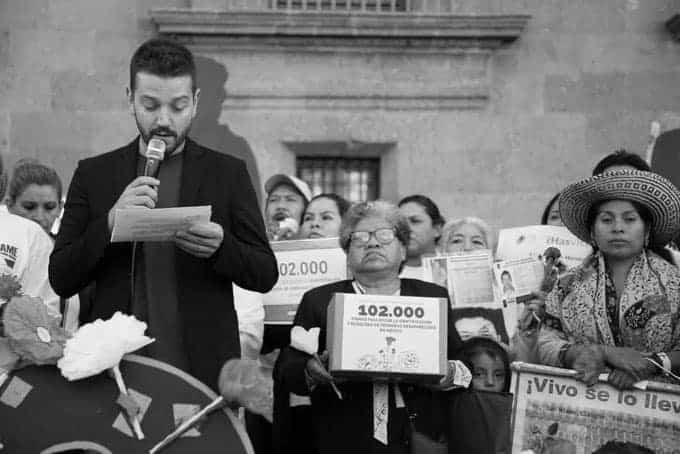 Diego Luna apoya a desaparecidos