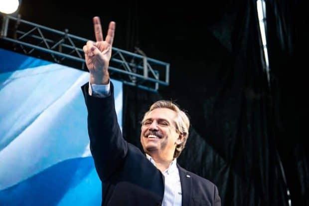 Alberto Fernández candidato a presidente