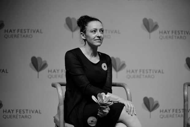 Lina Meruane en el Hay Festival 2019