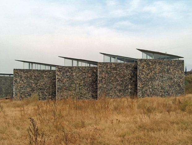 Edificios Públicos en Milpa Alta. Mauricio Rocha