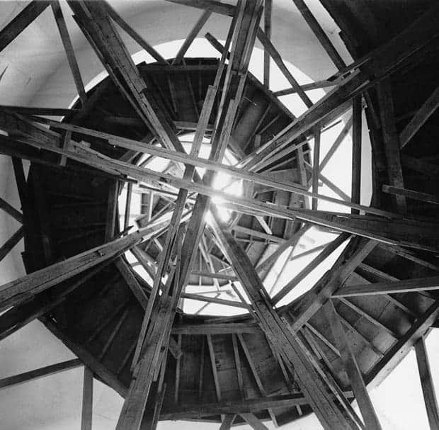 Intervención a la Torre de los Vientos, 1996. Mauricio Rocha.